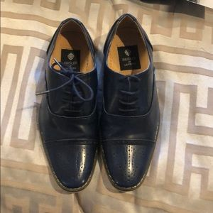 Other - Sleek Navy Boys dress shoes